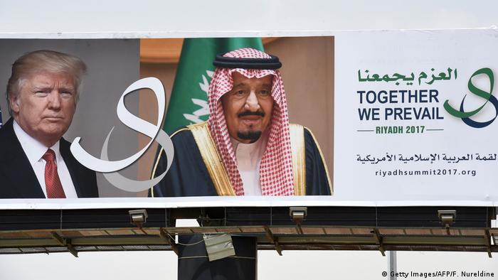 Saudi Arabien vor dem Trump Besuch (Getty Images/AFP/F. Nureldine)