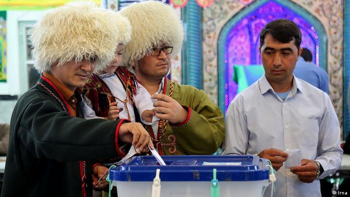بیش از ۸۰ درصد ترکمنها در دو دور انتخابات ریاست جمهوری به حسن روحانی رای دادند