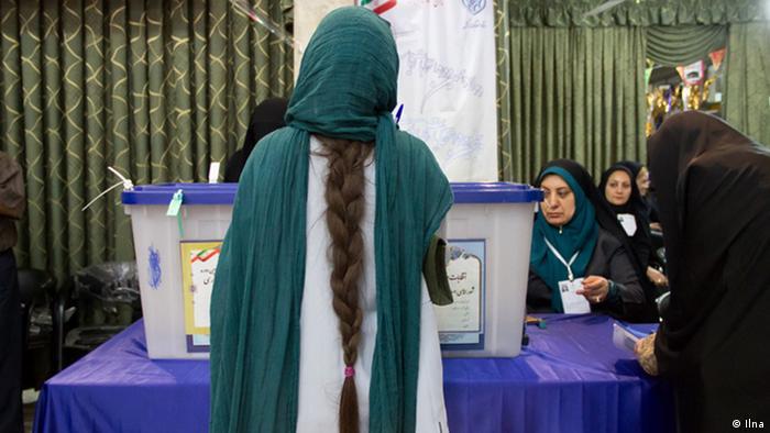 Iranische Wählerin (19.05.2017)