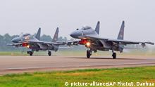 China Airforce Sukhoi SU-30 Kampfjets