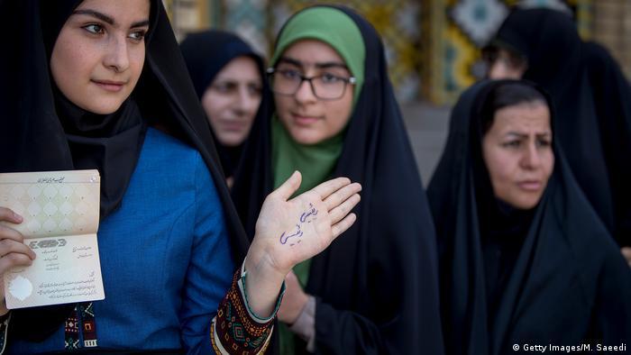 Iran Präsidentschaftswahlen 2017 (Getty Images/M. Saeedi)