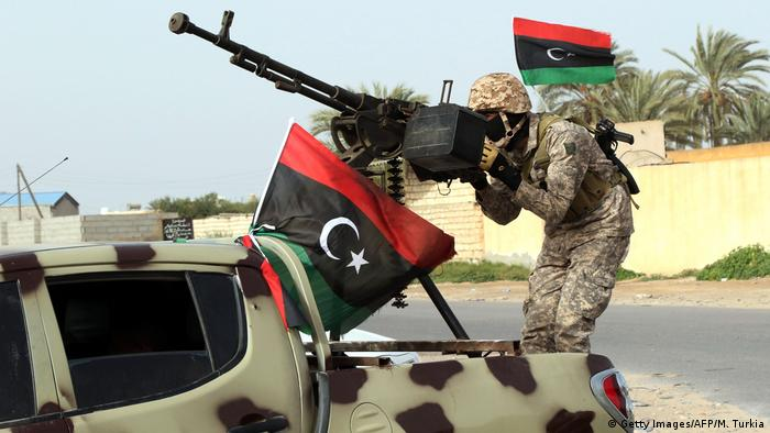 Libyen Konflikt - Soldaten (Getty Images/AFP/M. Turkia)