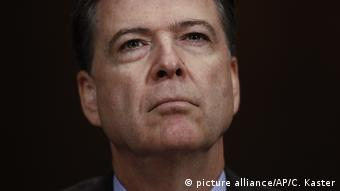 USA ehemaliger FBI-Chef Comey (picture alliance/AP/C. Kaster)