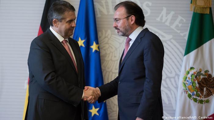 Außenminister Sigmar Gabriel in Mexiko