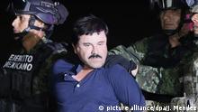 Mexiko - Drogenkrieg - Symbolbild - El Chapo