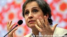 Mexiko Journalistin Carmen Aristegui