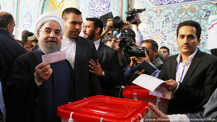 Hassan Rouhani Iran Wahlen (picture alliance/dpa/Iranian Presidential Office)