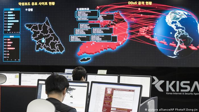 Nordkorea WannaCry Cyberattack (picture alliance/AP Photo/Y.Dong-jin)