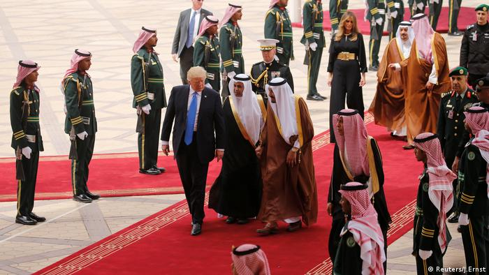 Donald Trump in Saudi Arabien (Reuters/J.Ernst)