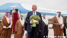 Donald Trump in Saudi Arabien