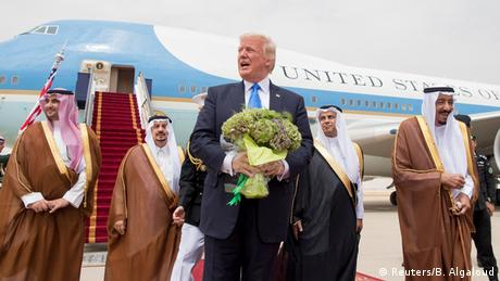Donald Trump in Saudi Arabien (Reuters/B. Algaloud)