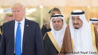 Donald Trump in Saudi Arabien (Reuters/Saudi Royal Court)