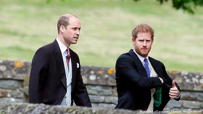 Prince William and Harry (picture-alliance/AP Photo/K. Wigglesworth)