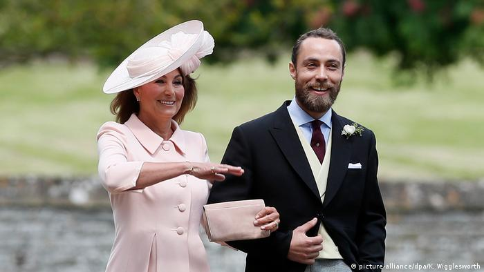 Carole and James Middleton (picture-alliance/dpa/K. Wigglesworth)