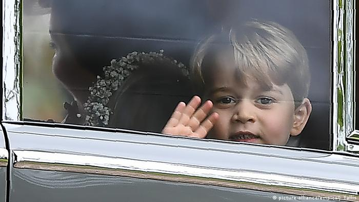 Four-year-old Prince George at Pippa Middleton's wedding (Photo: picture-alliance/empics/J. Tallis)