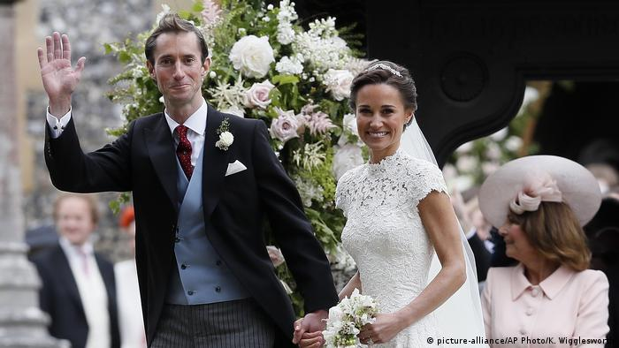 Pippa Middleton and James Matthews wedding (picture-alliance/AP Photo/K. Wigglesworth)