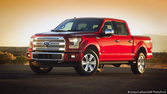 Ford F-150 pickup (picture-alliance/AP Photo/Ford)