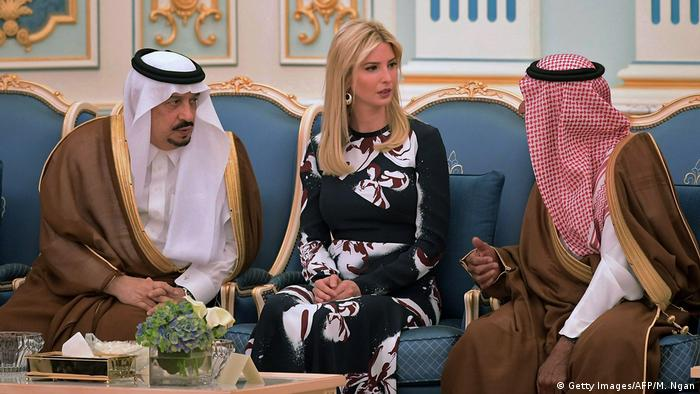 Auslandreise US-Präsident Trump in Saudi-Arabien - Ivanka Trump (Getty Images/AFP/M. Ngan)