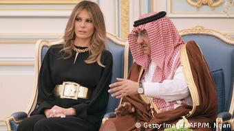 Auslandreise US-Präsident Trump in Saudi-Arabien - Melania Trump