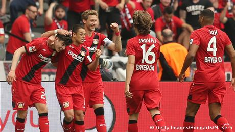 Deutschland Hertha BSC v Bayer 04 Leverkusen (Getty Images/Bongarts/M. Kern)