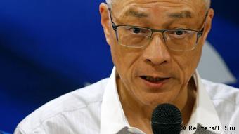 Taiwan ehemaliger Vizepräsident Wu Den-yih (Reuters/T. Siu)