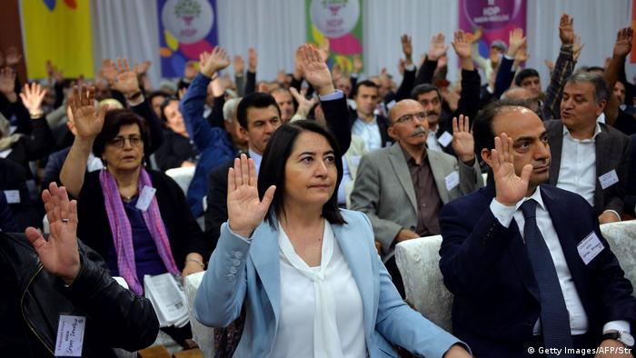 HDP-Parteitag im Mai 2017 (STR/AFP/Getty Images)