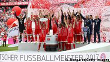 Bundesliga Saisonende - FC Bayern Deutscher Meister (Bongarts/Getty Images)
