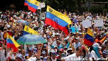 Venezuela - weitere Proteste gegen Maduro