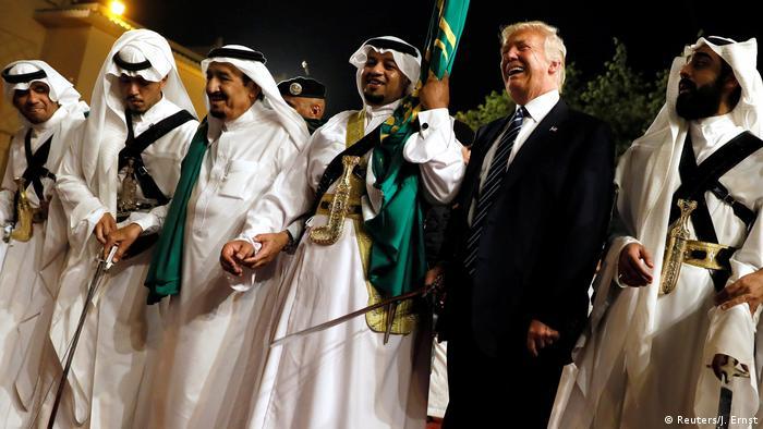 Auslandreise US-Präsident Trump in Saudi-Arabien