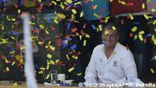 Ecuador - Präsident Rafael Correa bei seiner letzten wöchentlichen Rede
