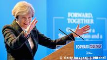 Schottland - Edinburgh - Theresa May