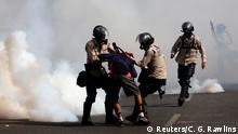 Venezuela Caracas - Proteste gegen Maduro