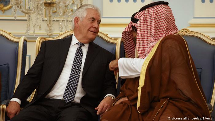 RexTillerson in Saudi-Arabien Riad