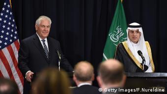 Saudi Arabien Rex Tillerson PK Adel al-Jubeir