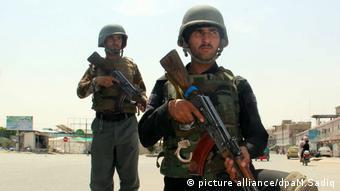 Kandahar Afghanistan Polizei (picture alliance/dpaM.Sadiq)