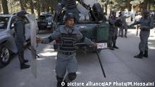 Kabul Afghanistan Polizei (picture alliance/AP Photo/M.Hossaini)