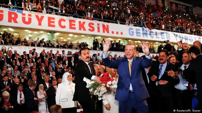 Erdogan at AKP party conference in Ankara (Reuters/M. Sezer)