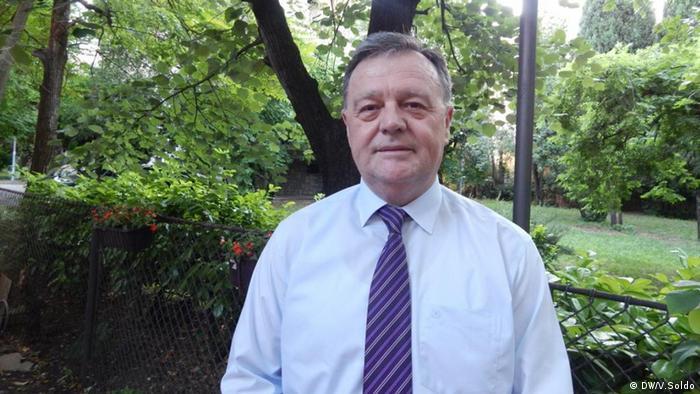 Prof. Dr. Marko Ivanković (DW/V.Soldo)