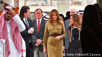 Melania Trump Saudi Arabien