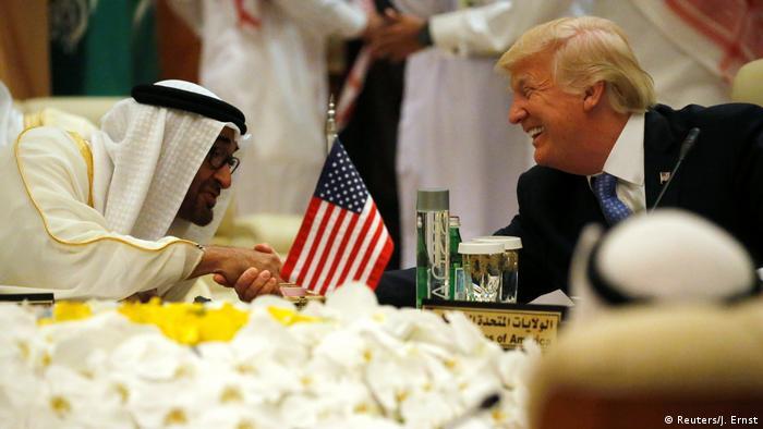 ترامب وبن زايد