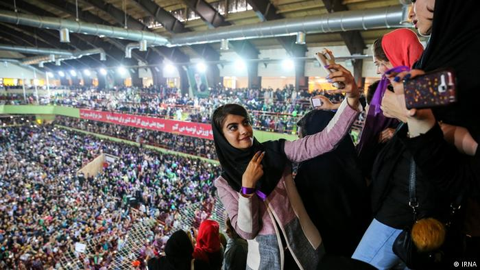 Iran Präsidentschaftswahlen - Feier (IRNA)