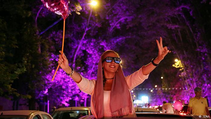 Iran Präsidentschaftswahlen - Feier ( ILNA)