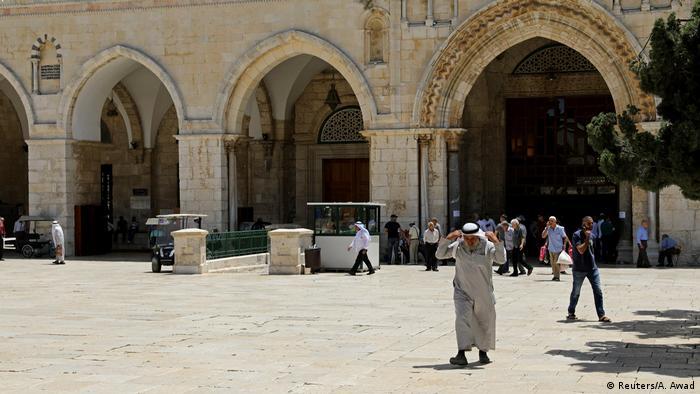 Israel - Jerusalem - al-Aqsa-Moschee (Reuters/A. Awad)