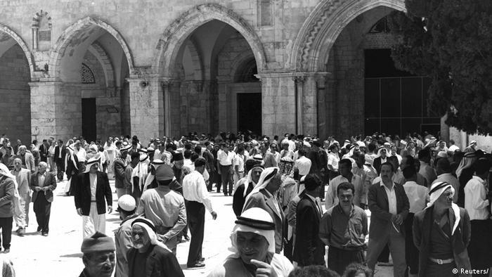 Jerusalem 1967 - al-Aqsa-Moschee (Reuters/)