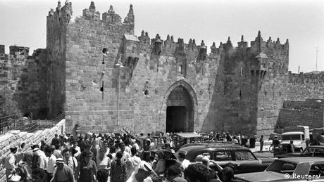 Jerusalem 1967 Damascus Gate (Reuters/)