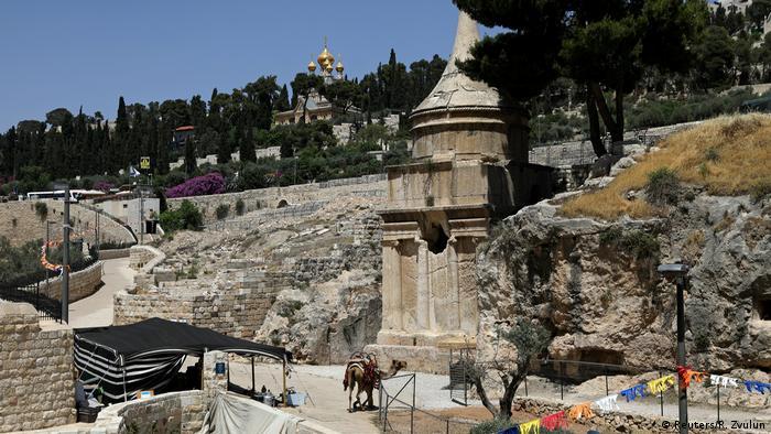 Israel - Jerusalem - Abschaloms Grab (Reuters/R. Zvulun)