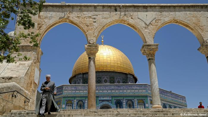 The Dome of the Rock in Jerusalem (Reuters/A. Awad)
