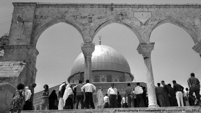 Israel - Jerusalem 1967 - Tempelberg (Reuters/Moshe Pridan/Courtesy of Government Press Office)