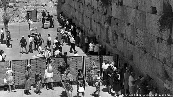 Jerusalem 1967 Western Wall Reuters/Fritz Cohen/Government Press Office)