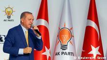 Türkei Parteitag AKP in Ankara Erdogan